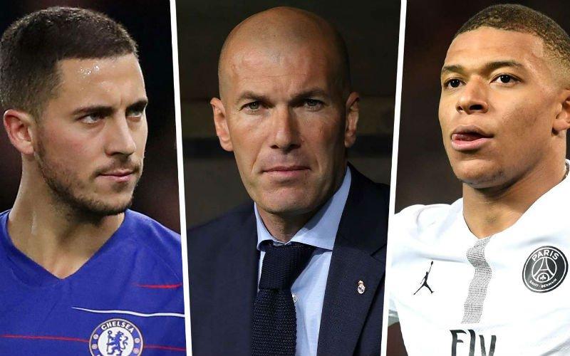Real Madrid zorgt voor gigantische schok: 'Na Hazard ook Mbappé'