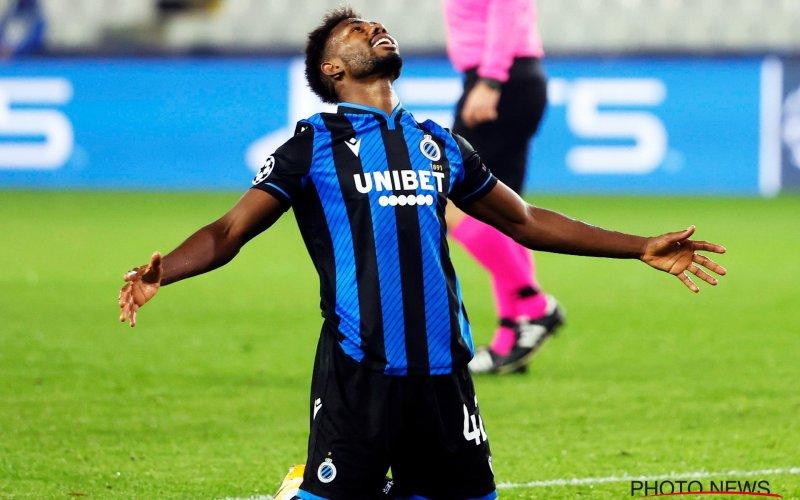 Emmanuel Dennis maakt zich onmogelijk bij Club Brugge