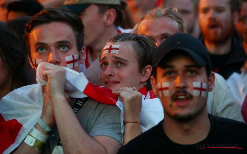 Voetbalfans lachen Engeland uit: