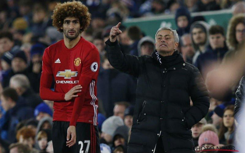 Fellaini en Mourinho beleven innig moment na erg belangrijk doelpunt (Video)