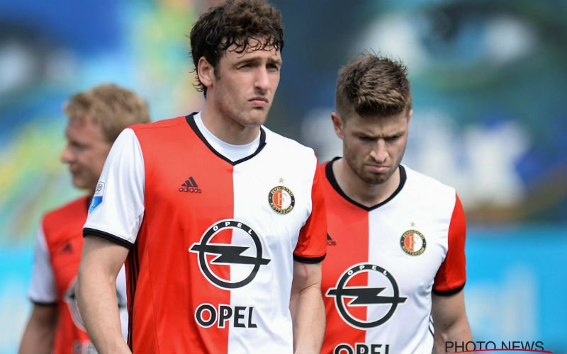 Feyenoord-fans breken de boel af na nederlaag