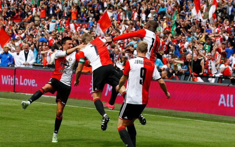 Feyenoord schrijft geschiedenis in Eredivisie
