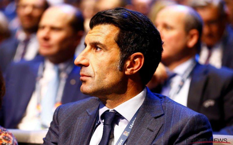 Luis Figo over EK: