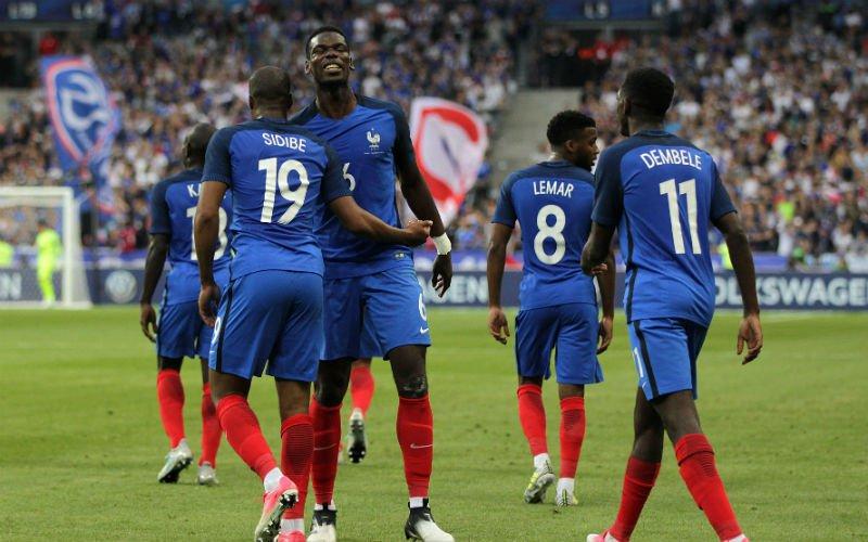 Sterke Fransen winnen met 10 man van Engeland