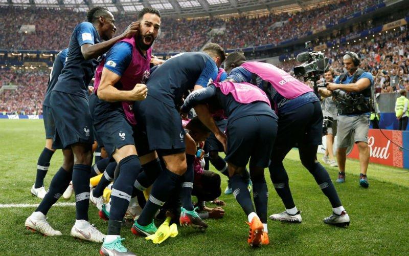 Frankrijk heeft geluk aan zijn kant en is wereldkampioen