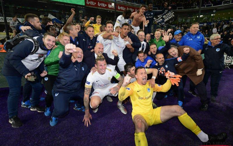 KRC Genk is voor vierde keer landskampioen