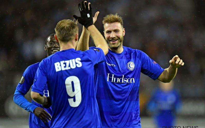 AA Gent wint opnieuw in Europa League en is reekshoofd