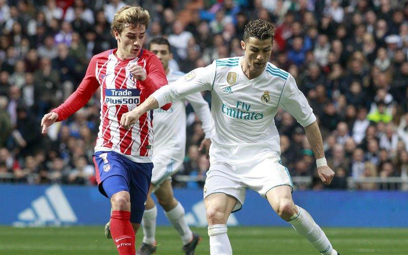 Dit zei Griezmann voor Madrileense derby over zijn toekomst aan Ronaldo