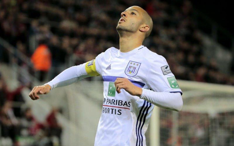 Sofiane Hanni dreigt Anderlecht te verlaten
