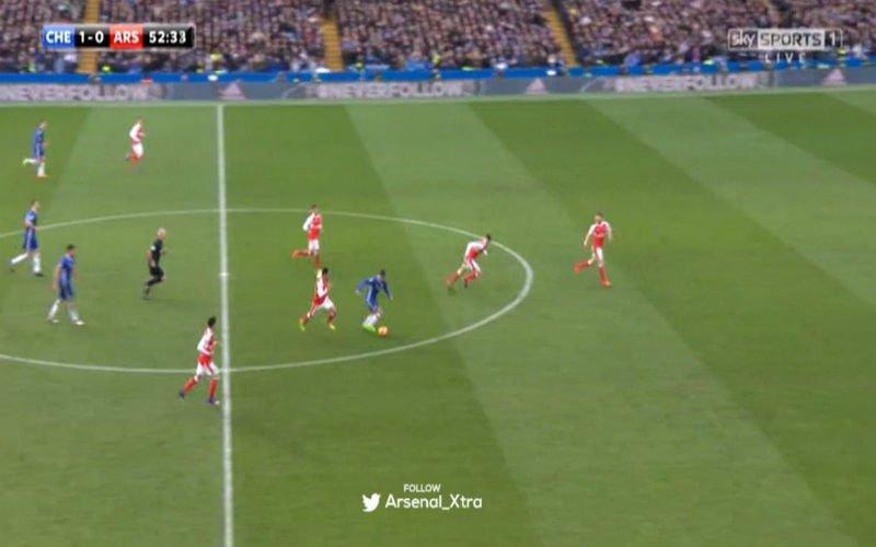 Hazard scoort tegen Arsenal na een fenomenale solo (Video)