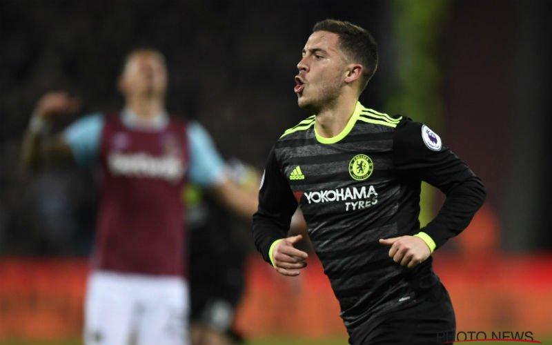 Hazard scoort deze geweldige goal voor Chelsea (Video)