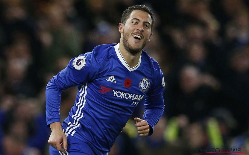 Hazard toont opnieuw z'n klasse met opvallende statistiek