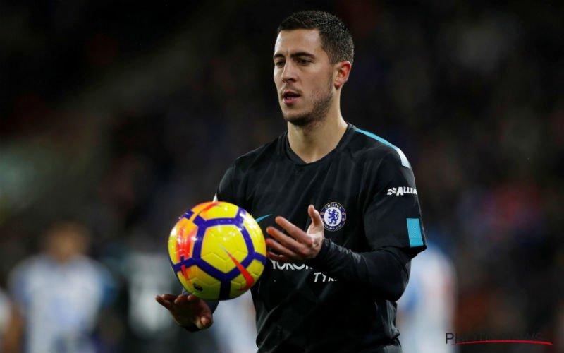 Chelsea, met zwakke Hazard, raakt niet voorbij 10 man van Leicester