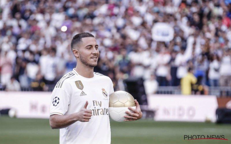 Zidane werkt aan supertrio bij Real: 'Hazard krijgt deze 2 kleppers naast zich'