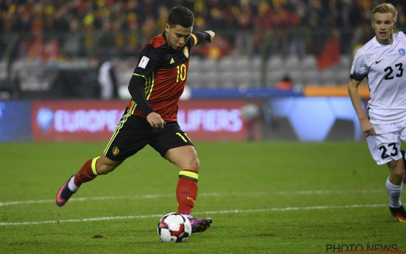 Eden Hazard droomt van erg verrassende Rode Duivel: