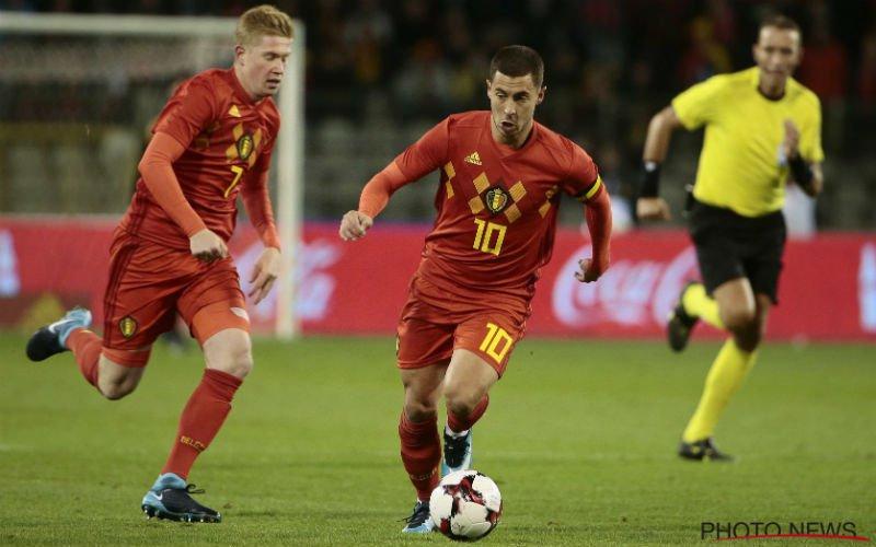 Deze Belgische speler wordt op FIFA 19 beter dan Hazard en De Bruyne