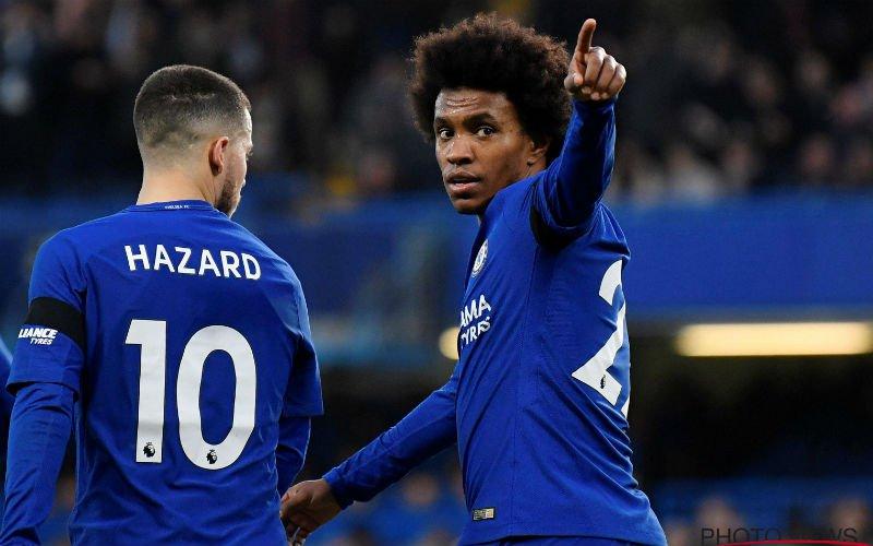 Officieel: Chelsea-sterkhouder Willian maakt wel erg pikante transfer