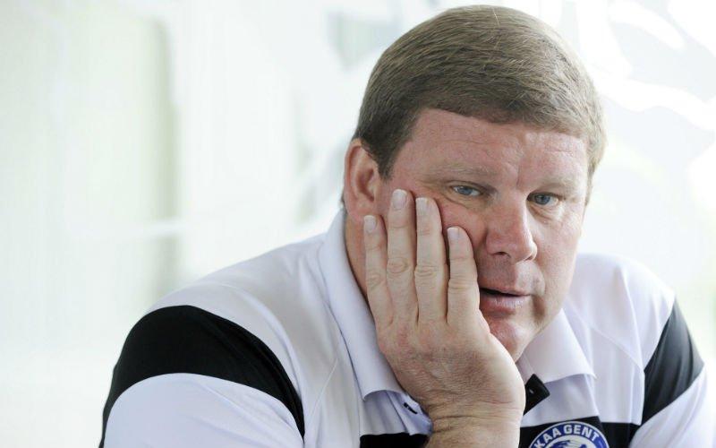 Vanhaezebrouck haalt zwaar uit naar Club Brugge