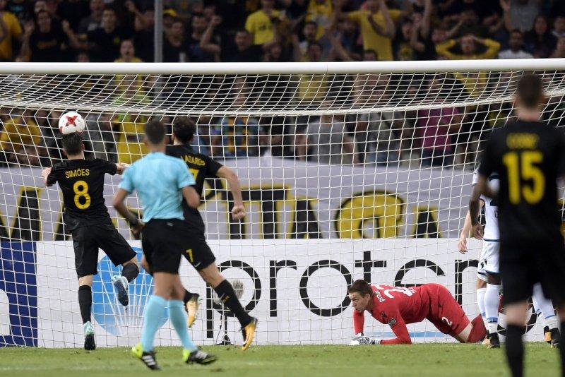 Club Brugge met schaamrood op de wangen uit Europa
