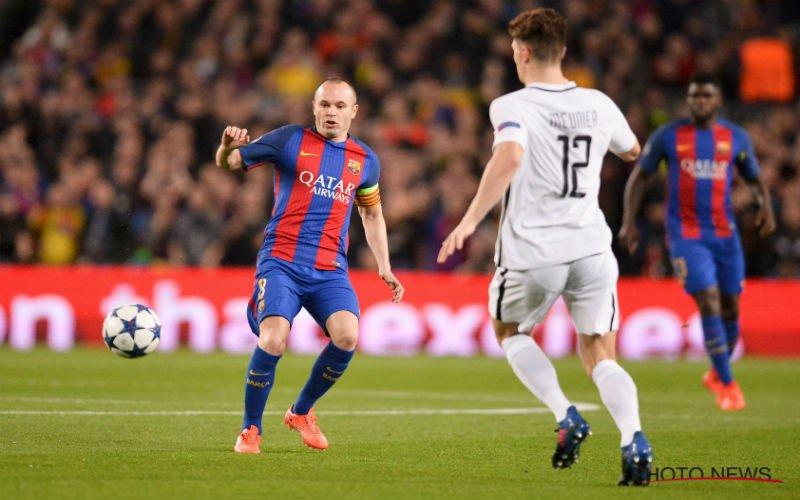 'Opvallende nieuwe rol voor Andres Iniesta bij Barcelona'