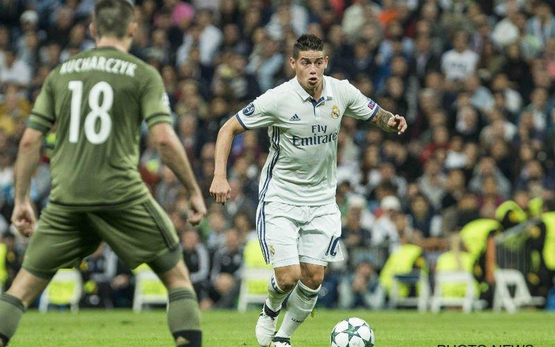 Real Madrid plakt enorme transfersom op hoofd van James Rodriguez