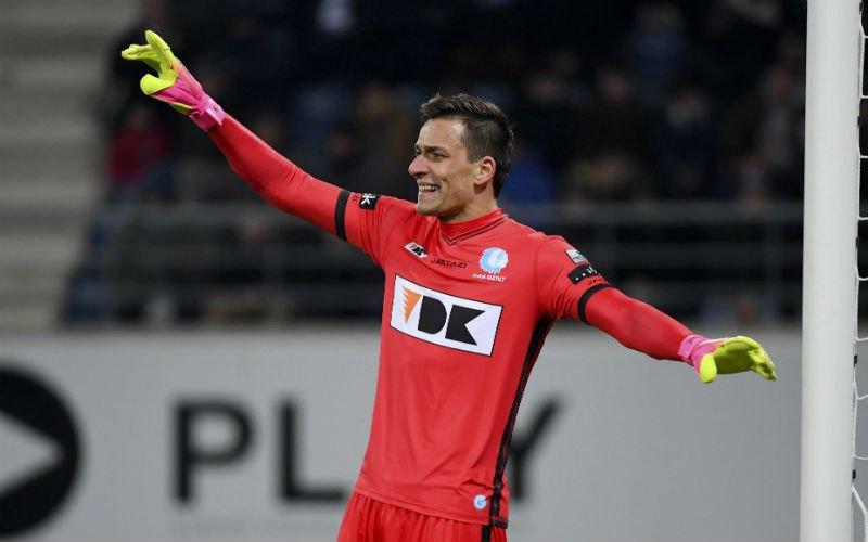 Gent doet opmerkelijke vaststelling over nieuwe doelman: