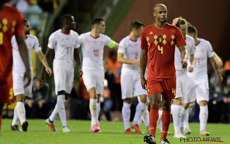 'Kompany niet op training, Martinez kiest tegen Zwitserland voor deze elf'
