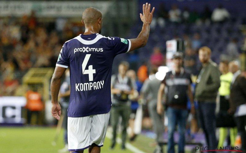 Kompany laat Anderlecht-fans in de steek: