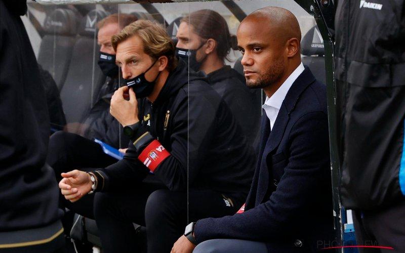 Stevige klap voor Kompany en Anderlecht