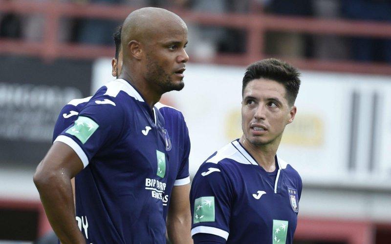 Kompany maakt brokken bij Anderlecht: