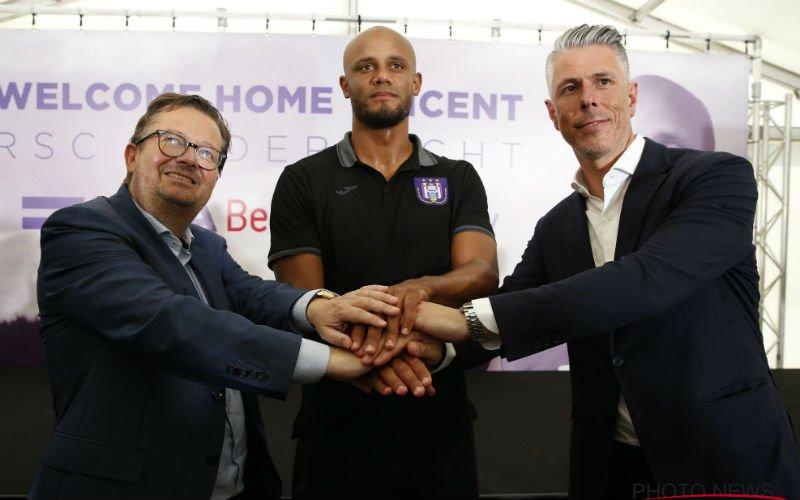 Denkt Anderlecht aan ontslag Kompany?