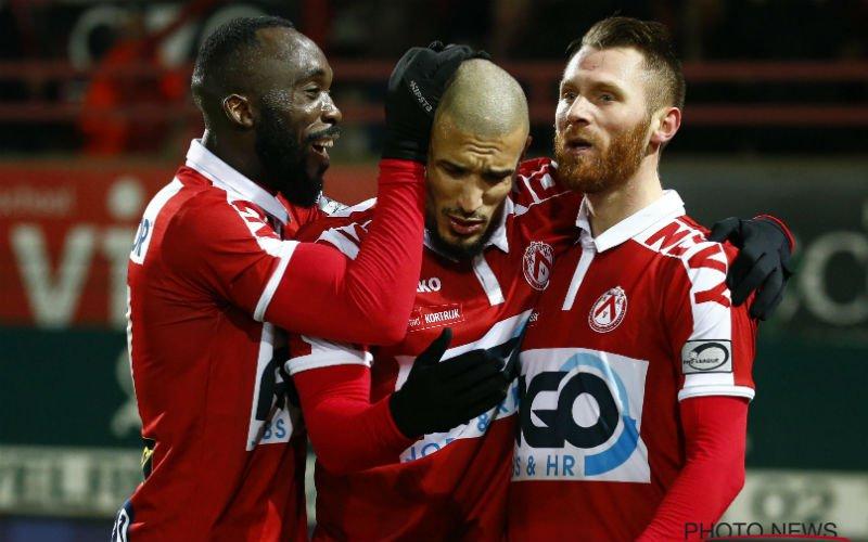 Na acht nederlagen wint Kortrijk eindelijk nog eens