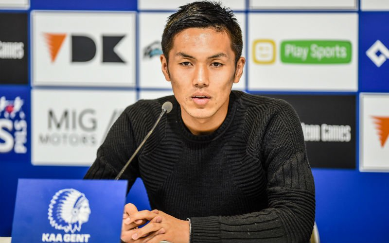 Nieuwe spits van AA Gent waarschuwt op zijn eerste dag Club Brugge al