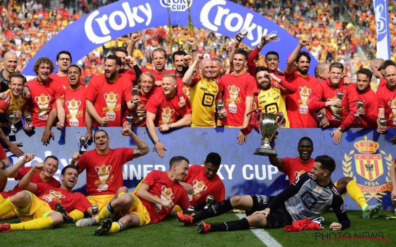 KV Mechelen en WB krijgen fantastisch nieuws: