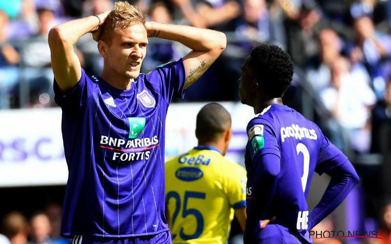 Zware crisis op Anderlecht na pijnlijke nederlaag