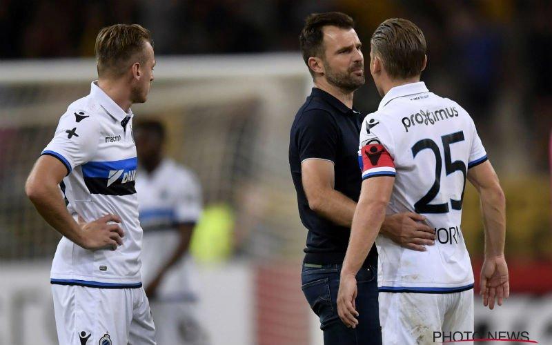 'Club Brugge zoekt naar een oplossing voor deze teleurgestelde speler'
