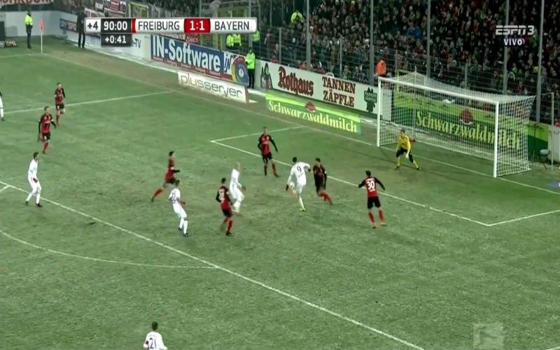 Lewandowski etaleert zijn buitengewone balcontrole en redt Bayern München (Video)