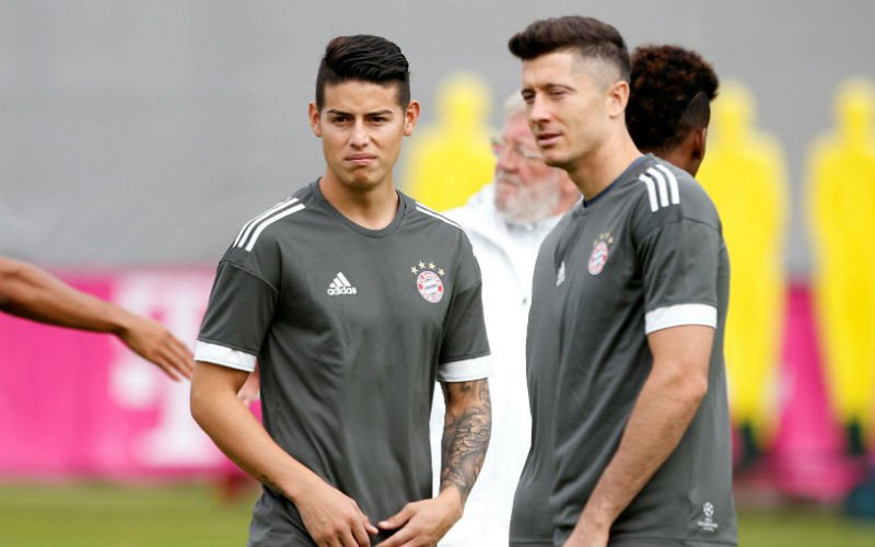 'Real Madrid neemt verrassende beslissing over James'