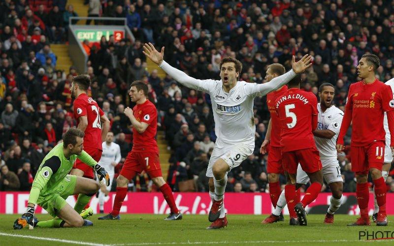 Zware kater voor Liverpool in volle titelstrijd