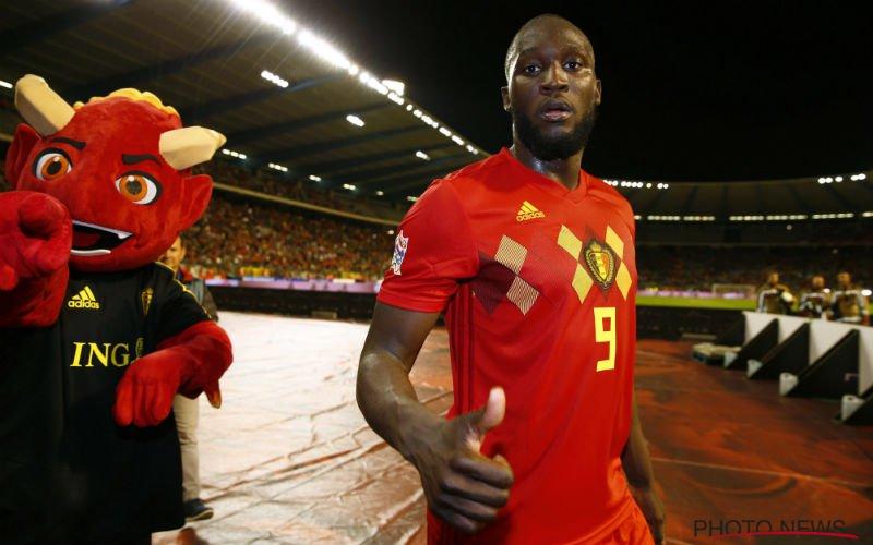 Lukaku weet niet wat hij ziet van de Belgische fans