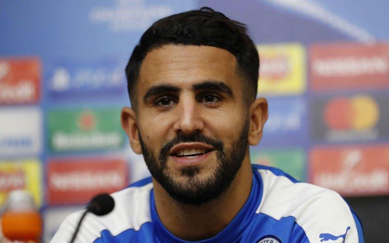 'Riyad Mahrez trekt voor 73 miljoen naar deze Engelse topclub'
