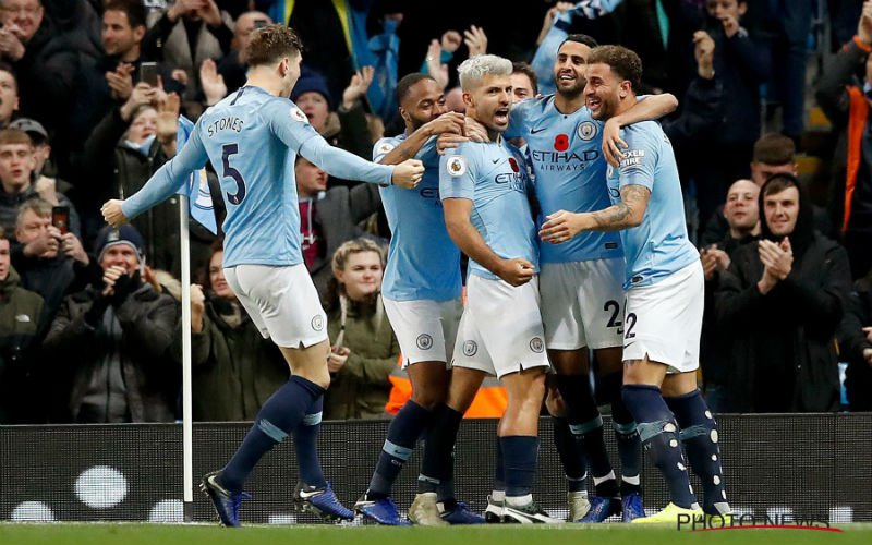 Manchester City trapt Manchester United uit de titelstrijd