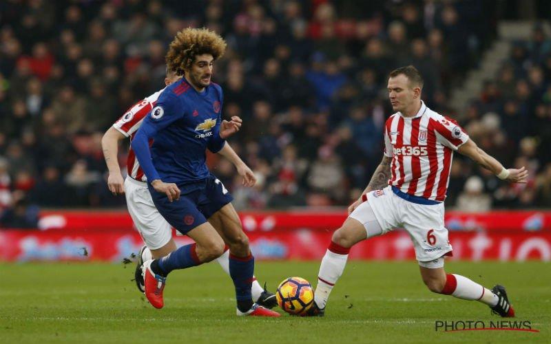 Manchester United sleept een punt uit de brand, Lukaku en Mirallas halen het van Benteke