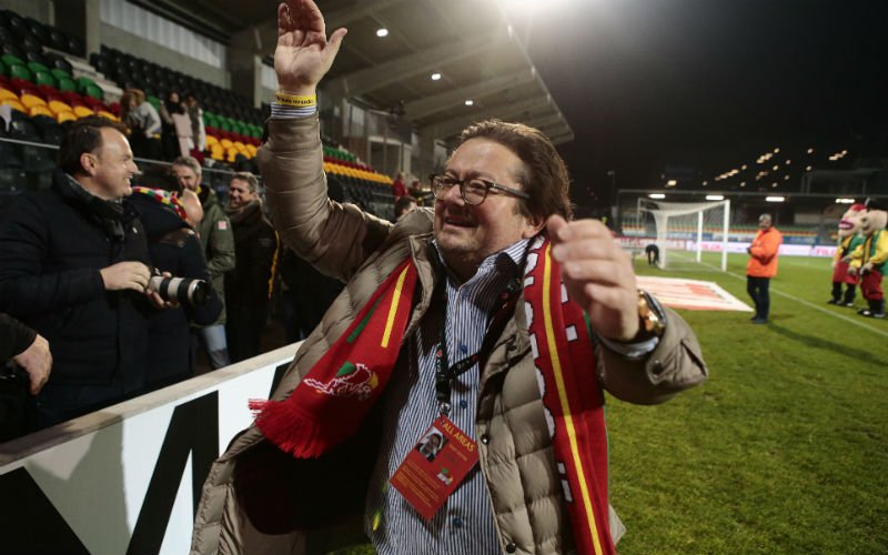 Marc Coucke in de wolken met Europa League-loting