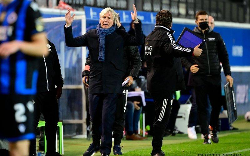 Marc Brys erg ontevreden na zege tegen Club Brugge