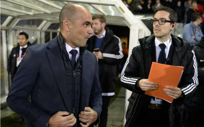 'Sterke prestatie Rode Duivel zorgt voor keuzestress bij Roberto Martinez'