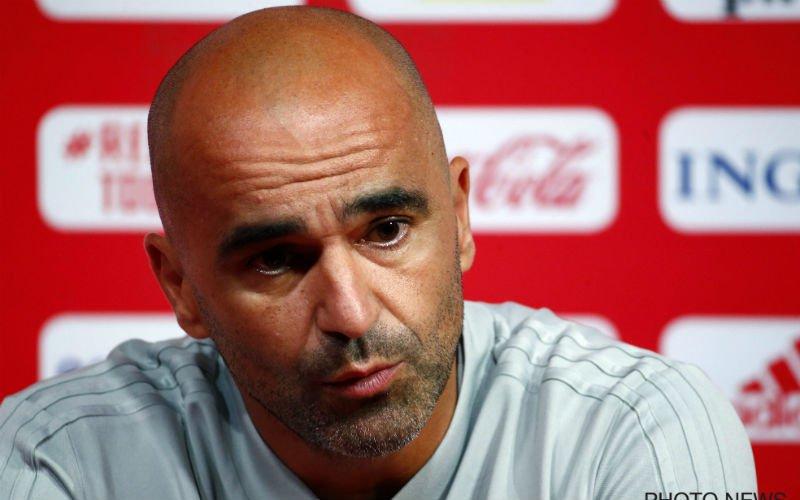 """Roberto Martinez: """"Jammer dat hij niet kon invallen"""""""