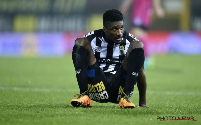 Charleroi heeft transfernieuws over Clinton Mata