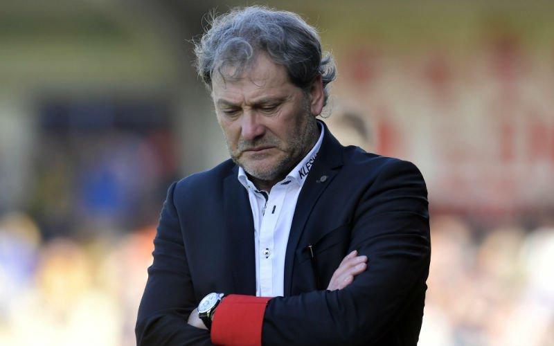 Mathijssen wil nog iets kwijt na de degradatie van Westerlo: