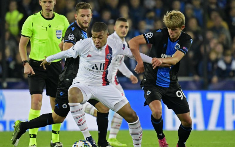 Club Brugge-fans lijkbleek na het zien van Mbappé: